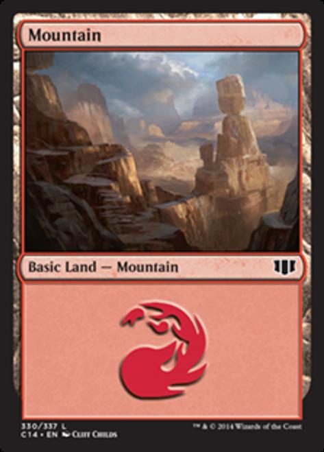 MtG 2014 Commander Land Mountain #330