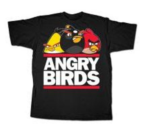Angry Birds Run Birds T-Shirt [Adult XXL]