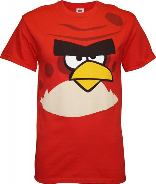 Angry Birds Big Brother T-Shirt [Adult Large]
