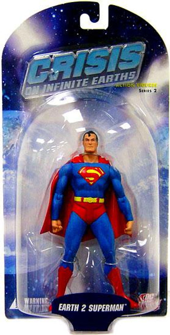 DC Crisis on Infinite Earths Series 2 Earth 2 Superman Action Figure [Damaged Package]