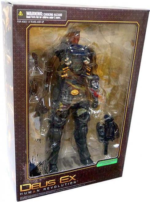 Deus Ex Human Revolution Play Arts Kai Series 1 Barret Action Figure [Damaged Package]