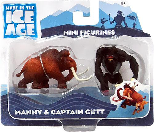 Ice Age Continental Drift Manny & Captain Gutt Mini Figure 2-Pack [Loose]