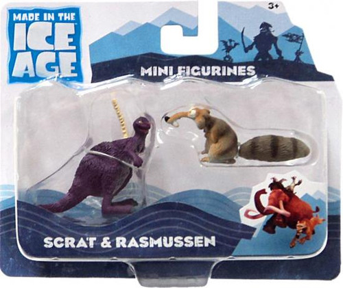 Ice Age Continental Drift Scrat & Rasmussen Mini Figure 2-Pack [Loose]