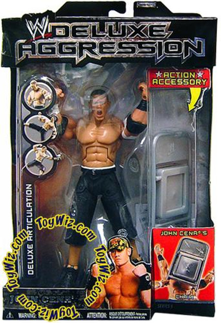 WWE Wrestling Deluxe Aggression Series 5 John Cena Action Figure [Damaged Package]