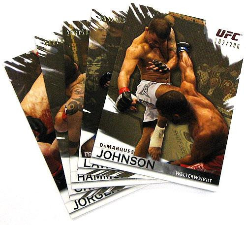 Topps UFC 2010 Knockout Parallel Gold Parallel Base Single Card [#149 Amilcar Alves]