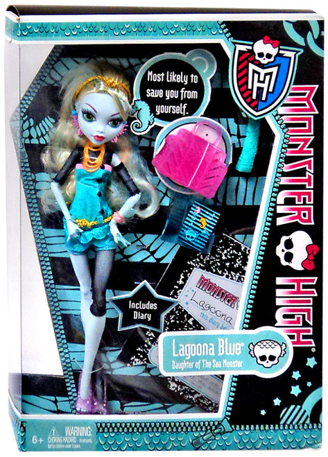 Monster High Lagoona Blue 10.5-Inch Doll [Damaged Package]