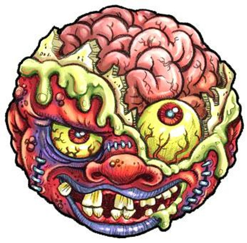 Madballs Classic Series 1 Bash Brain Mad Ball [Loose]