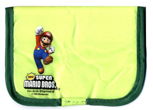 Super Mario Bros Thin 3x4-Inch Wallet [Red & Pink]