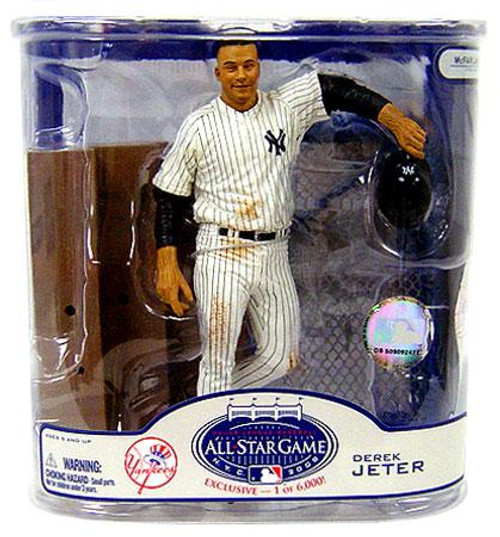 McFarlane Toys MLB New York Yankees Sports Picks Exclusive Derek Jeter Exclusive Action Figure [Damaged Package]