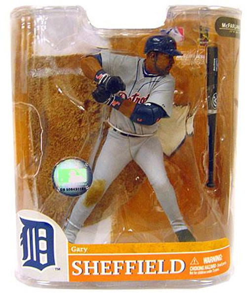 McFarlane Toys MLB Sports Picks Series 20 Exclusive Gary Sheffield (Detroit Tigers) Exclusive Action Figure [Damaged Package]