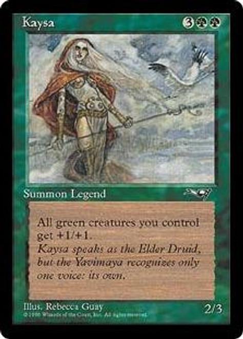 MtG Alliances Rare Kaysa [Slightly Played]