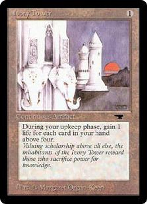 MtG Antiquities Uncommon Ivory Tower [Played]