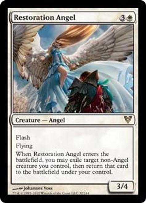 MtG Avacyn Restored Rare Foil Restoration Angel #32