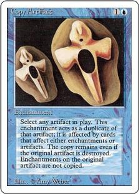 MtG Revised Rare Copy Artifact [Lightly Played]