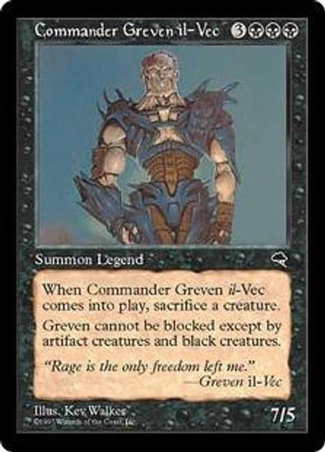 MtG Tempest Rare Commander Greven il-Vec [Played]