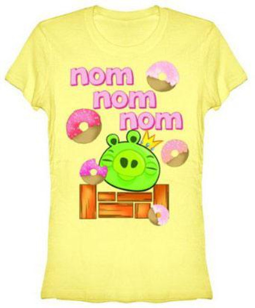 Angry Birds Nom Nom Nom T-Shirt [Women's XL]