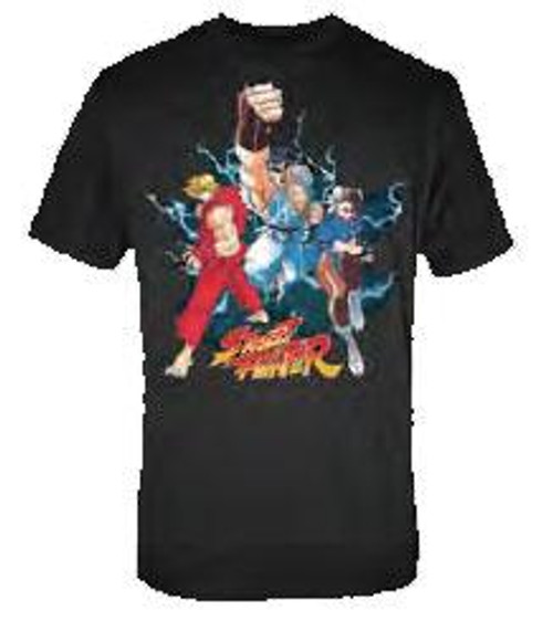 Street Fighter Trio T-Shirt [Adult Medium]