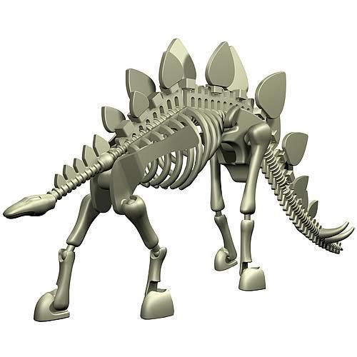 Stikfas Dinosaur Stegosaurus Action Figure Kit [Damaged Package]
