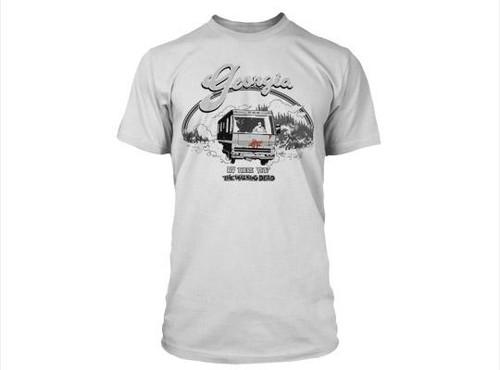 The Walking Dead Comic RV There Yet T-Shirt [Medium]