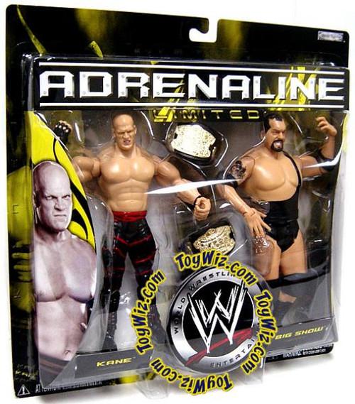 WWE Wrestling Adrenaline Limited Kane & Big Show Exclusive Action Figure 2-Pack [Damaged Package]