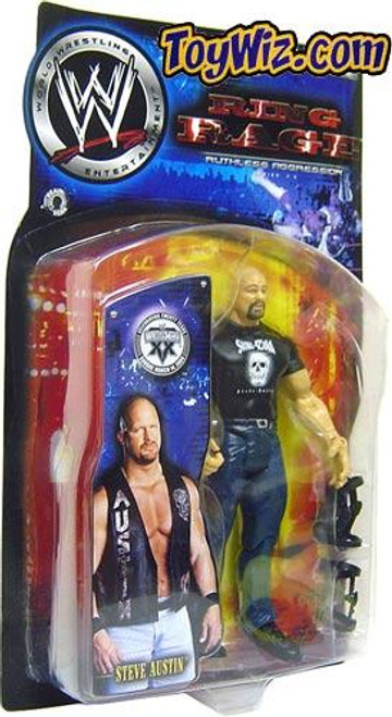 WWE Wrestling Ruthless Aggression Series 7.5 Ring Rage Stone Cold Steve Austin Action Figure [Damaged Package]