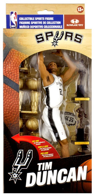 McFarlane Toys NBA San Antonio Spurs Tim Duncan Action Figure [Limited Edition Collector Box]