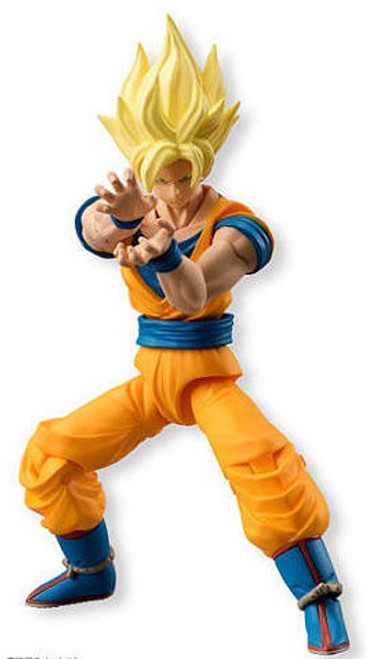 Dragon Ball Z Dragon Ball Kai Shokugan Neo Shodo Super Saiyan Goku 3.75-Inch PVC Figure