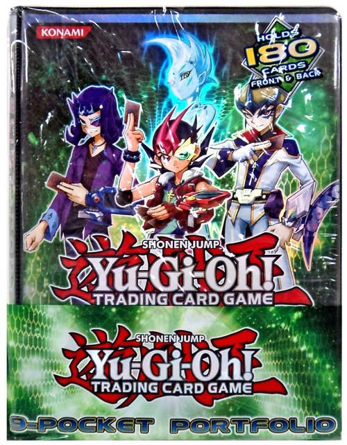 YuGiOh Trading Card Game Zexal Duelist Portfolio 9-Pocket Binder