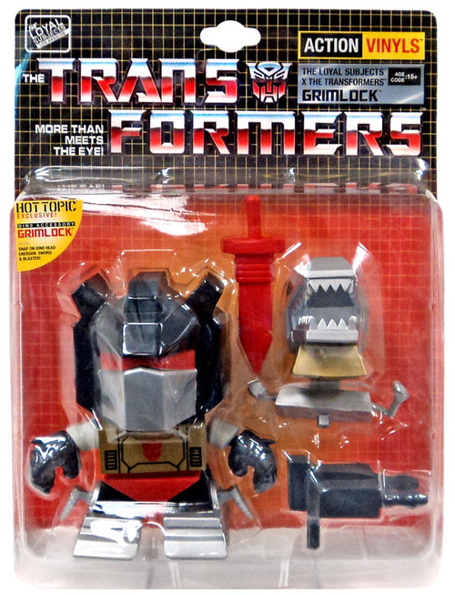 "Transformers Action Vinyls Grimlock Exclusive 5-Inch 5"" Vinyl Figure"