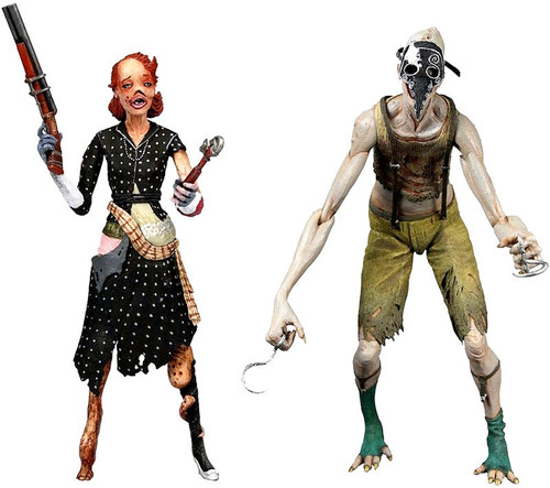 NECA Bioshock 2 Crawler Splicer & Ladysmith Splicer Action Figure 2-Pack