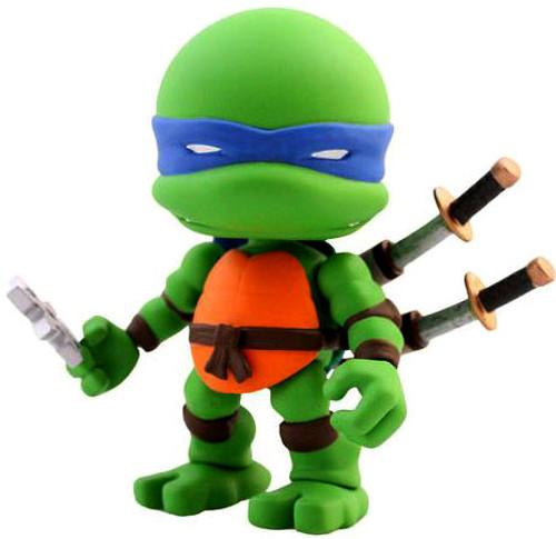 Teenage Mutant Ninja Turtles Wave 1 Leonardo 3-Inch Vinyl Mini Figure [Loose]