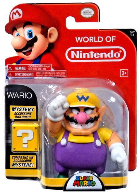 World of Nintendo Super Mario Wario Action Figure