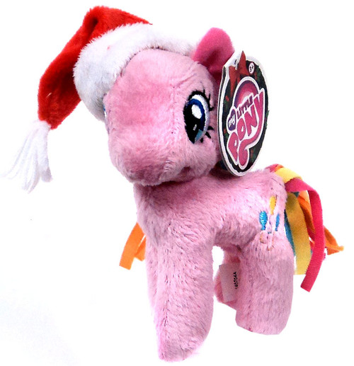 My Little Pony Friendship is Magic Holiday Pinkie Pie 5-Inch Plush [With Santa Hat]