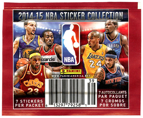 NBA Panini 2014-15 Basketball Sticker Collection Pack