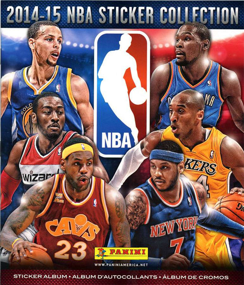 NBA Basketball Panini 2014-15 Basketball Sticker Collection Album