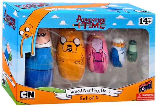 Adventure Time Wood Nesting Dolls
