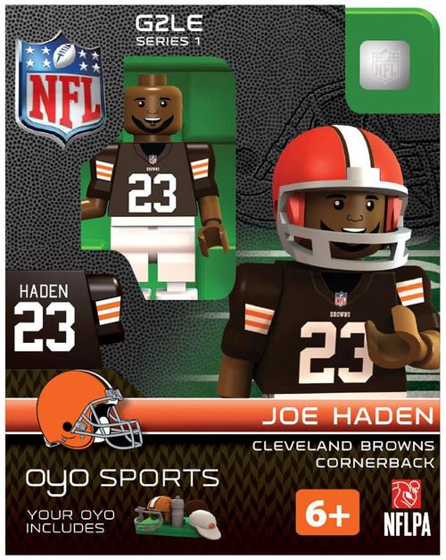 Cleveland Browns NFL Generation 2 Series 1 Joe Haden Minifigure