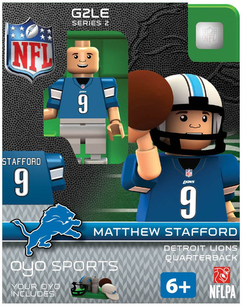 Detroit Lions NFL Generation 2 Series 2 Matthew Stafford Minifigure