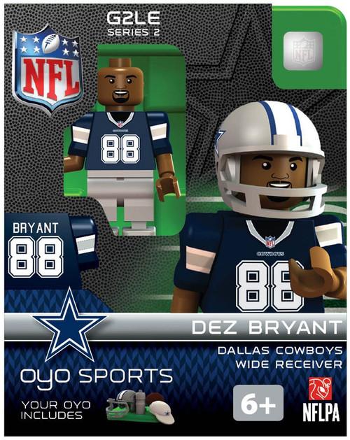 Dallas Cowboys NFL Generation 2 Series 2 Dez Bryant Minifigure