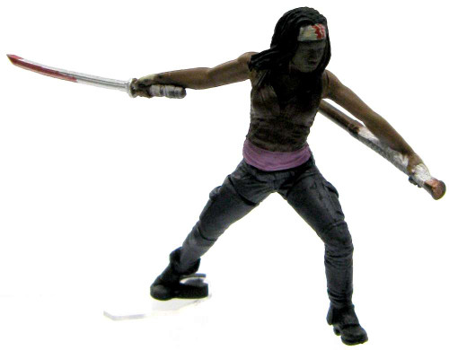 McFarlane Toys The Walking Dead Building Sets Series 1 Michonne 2-Inch Mini Figure [Loose]