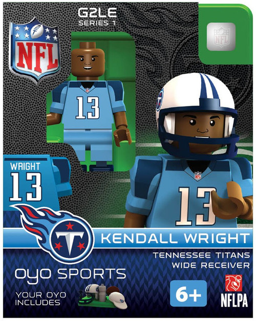 Tennessee Titans NFL Generation 2 Series 1 Kendall Wright Minifigure