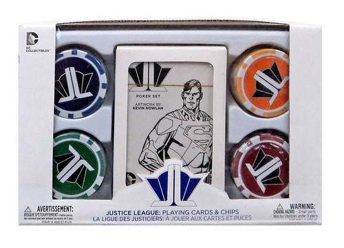 DC Justice League Starter Poker Set