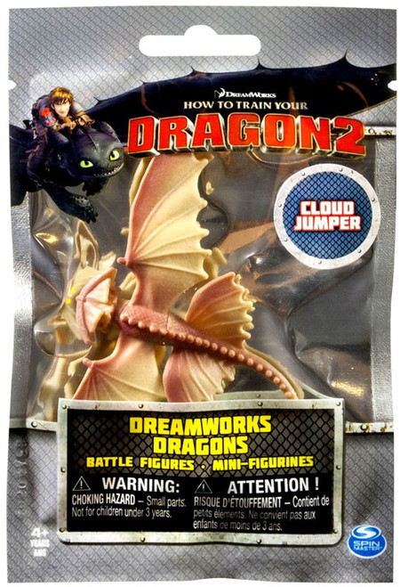 How to Train Your Dragon 2 Dreamworks Dragons Battle Figures Cloud Jumper Mini Figure