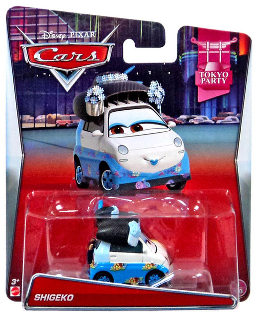 Disney / Pixar Cars Mainline Shigeko Diecast Car #1/10