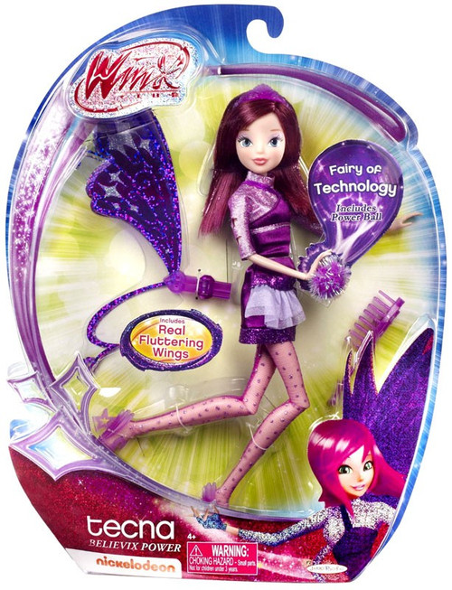 Winx Club Tecna 11.5-Inch Doll [Believix Power]