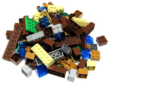 LEGO Minecraft Lot of Bricks Terrain [Overworld Loose]