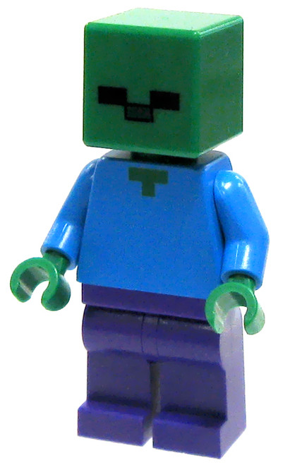 LEGO Minecraft Zombie Minifigure [Loose]