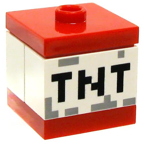LEGO Minecraft TNT Block Accessory [Loose]