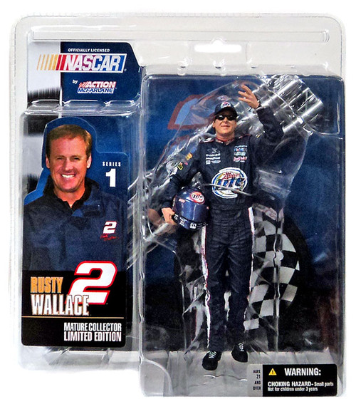 McFarlane Toys NASCAR Rusty Wallace Action Figure [Chase]