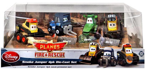 Disney Planes Fire & Rescue Smoke Jumper #1 Exclusive Diecast 4-Pack #1 [Damaged Package]